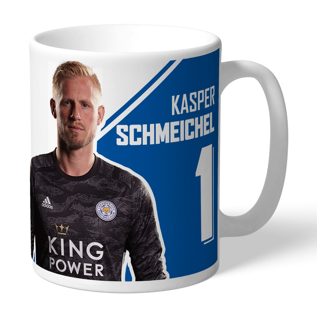 Leicester City FC Schmeichel Autograph Mug - Official Merchandise Gifts