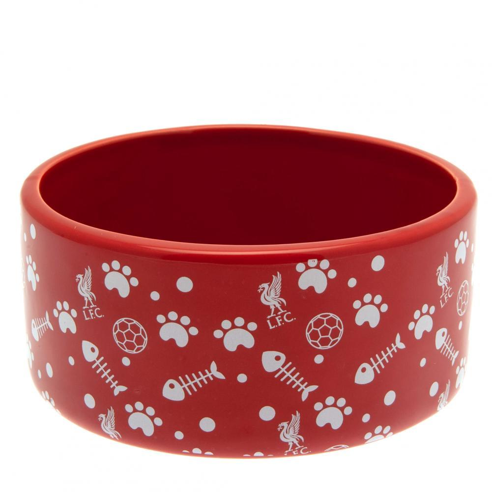 Liverpool FC Cat Bowl, Pet Bowls, Feeders & Waterers by Glamorous Gifts