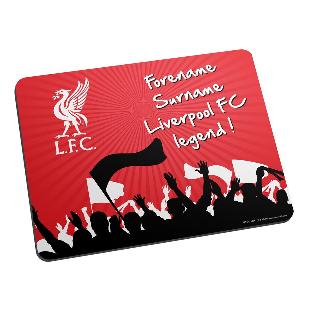 Liverpool FC Legend Mouse Mat - Official Merchandise Gifts