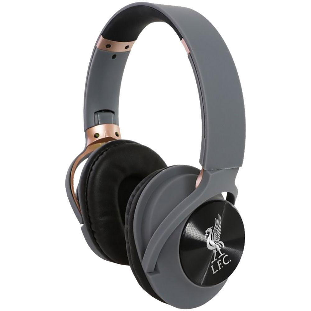 Liverpool FC Luxury Bluetooth Headphones, Audio Components by Glamorous Gifts