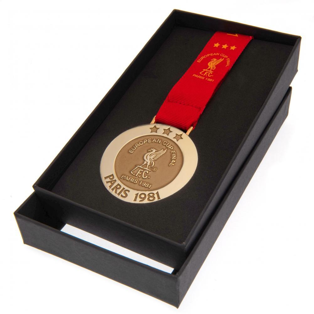 Liverpool FC Paris 81 Replica Medal, Collectables by Glamorous Gifts