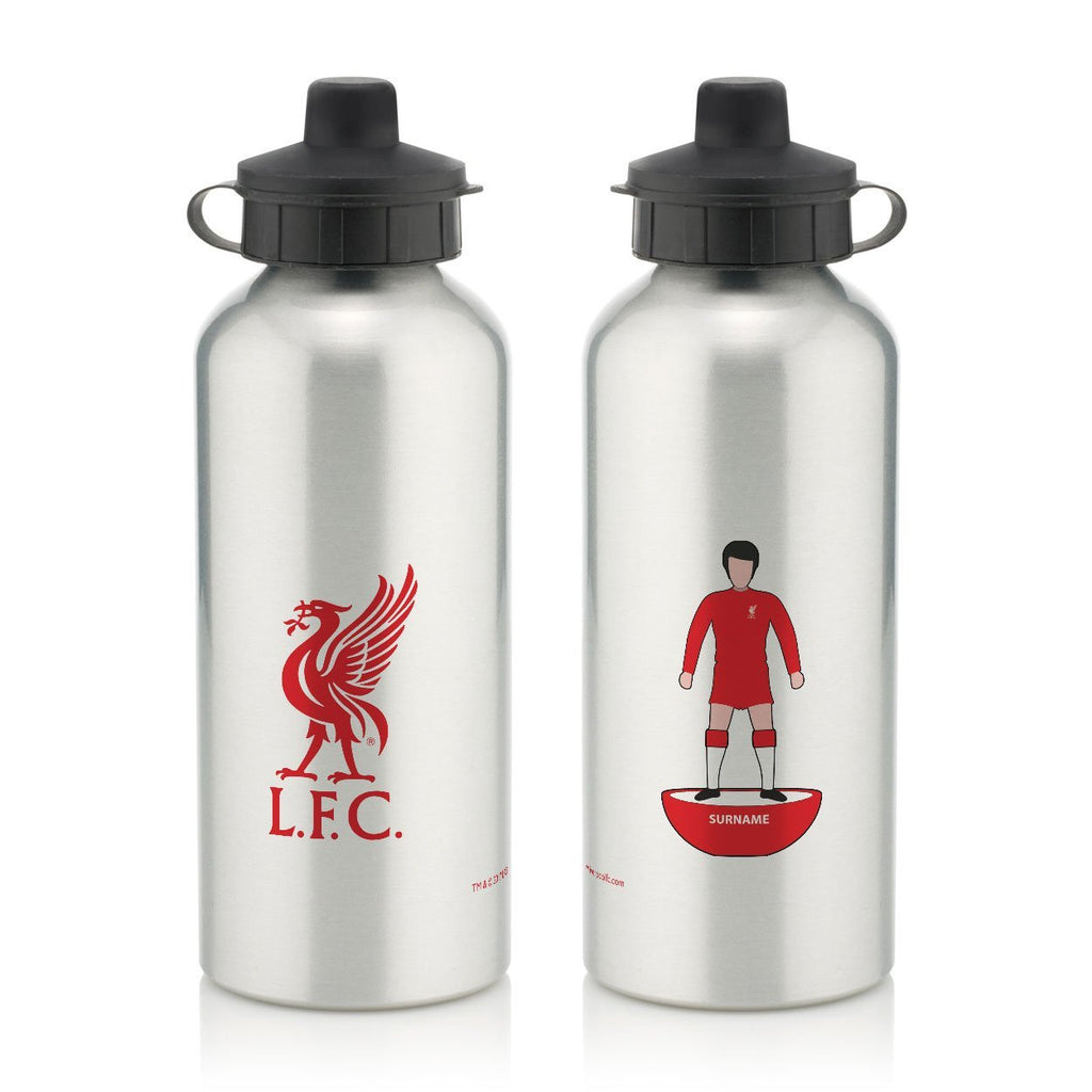 Liverpool FC Player Figure Water Bottle - Official Merchandise Gifts