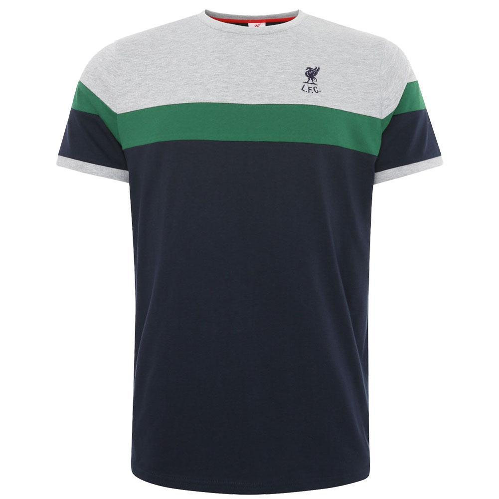 Liverpool FC Retro Panel T Shirt Mens Navy S, Shirts & Tops by Glamorous Gifts