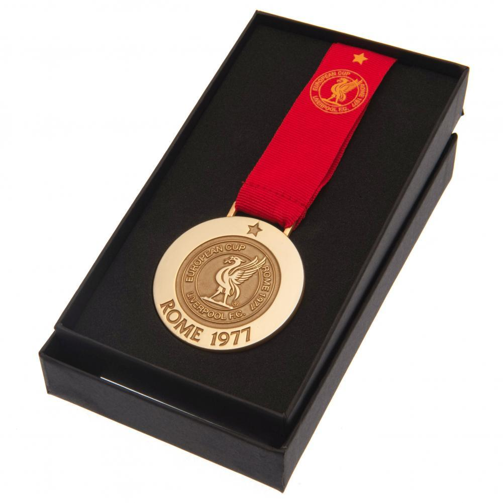 Liverpool FC Rome 77 Replica Medal, Collectables by Glamorous Gifts