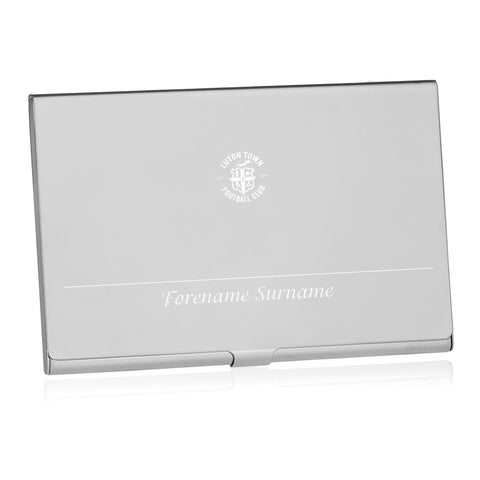 Luton Town FC Executive Business Card Holder - Official Merchandise Gifts