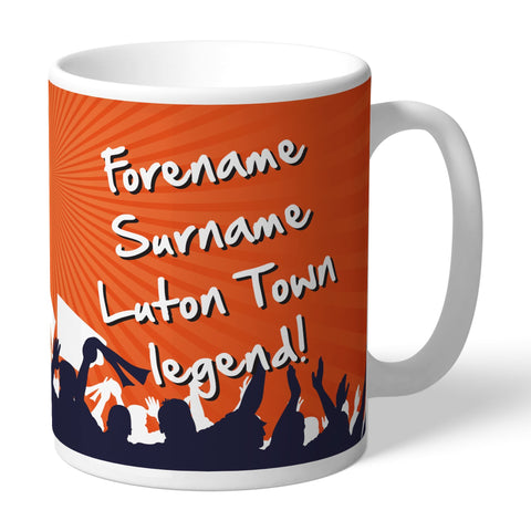 Luton Town FC Legend Mug - Official Merchandise Gifts