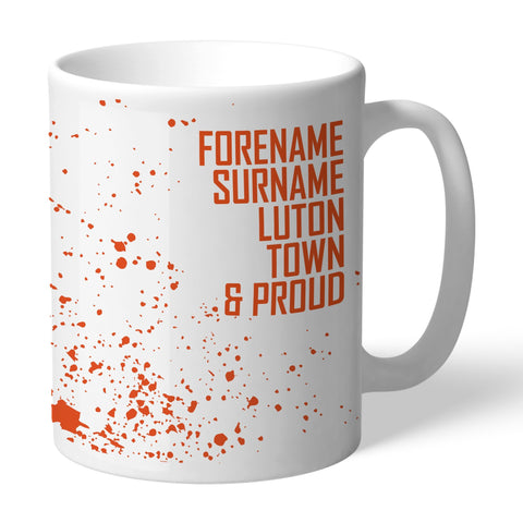Luton Town FC Proud Mug - Official Merchandise Gifts