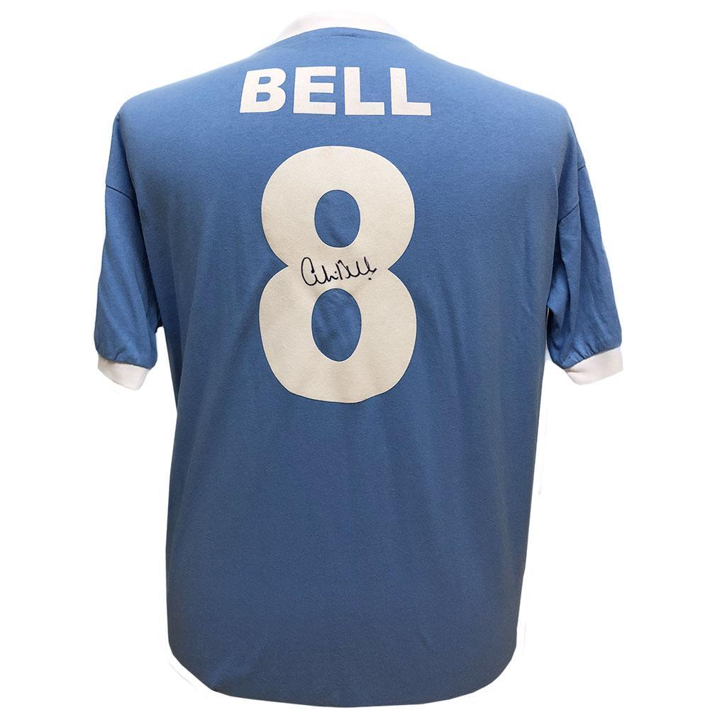Manchester City FC Bell Signed Shirt, Collectables by Glamorous Gifts