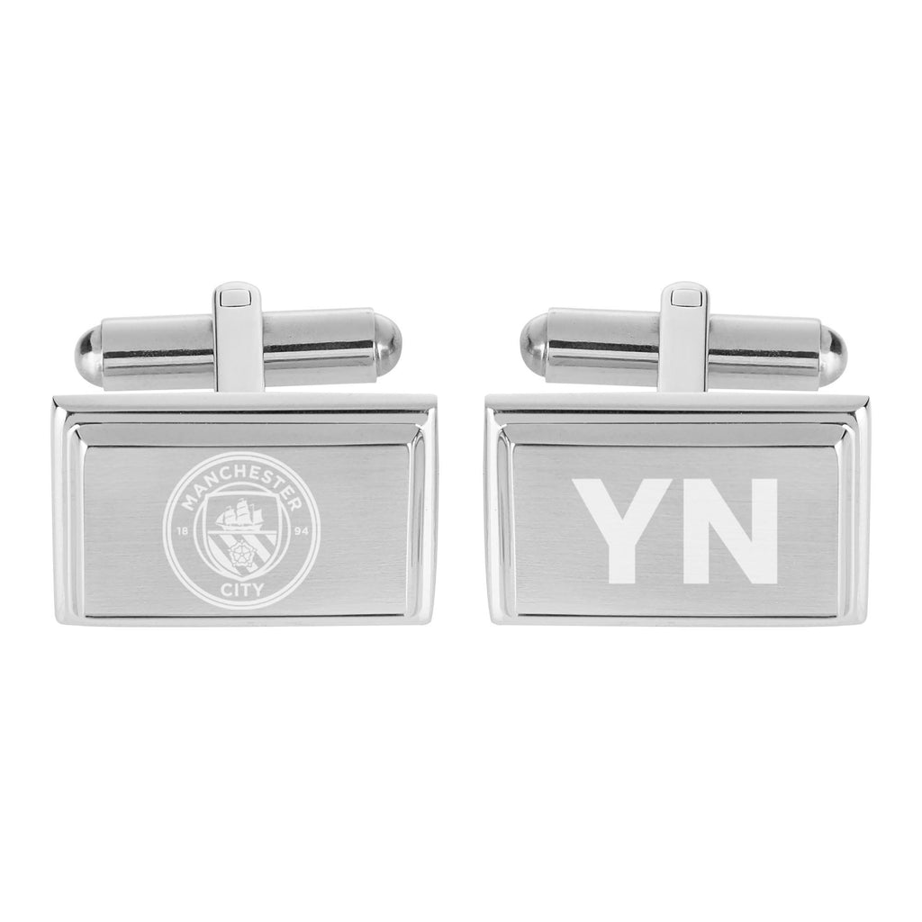 Manchester City FC Crest Cufflinks - Official Merchandise Gifts