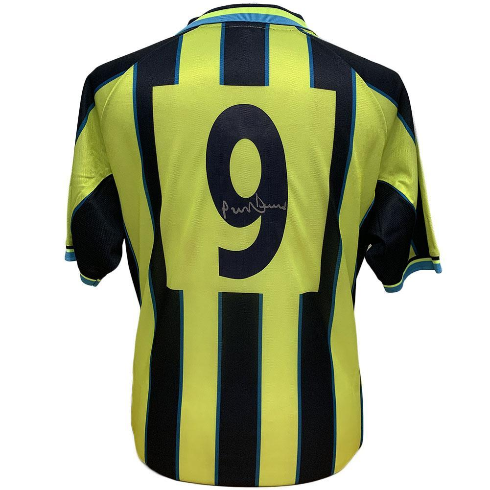 Manchester City FC Dickov Signed Shirt, Autographed Sports Paraphernalia by Glamorous Gifts