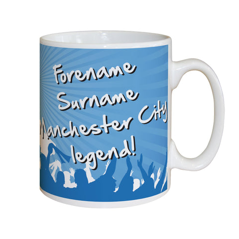 Manchester City FC Legend Mug - Official Merchandise Gifts