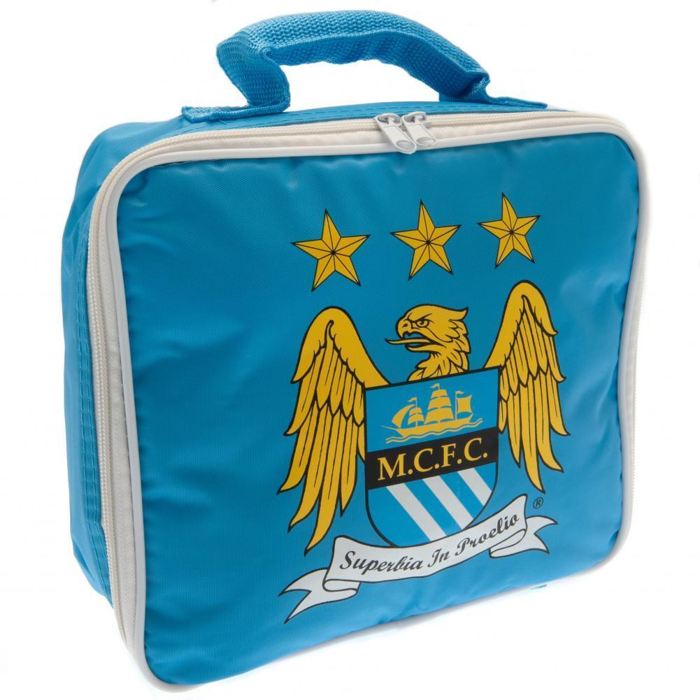 Manchester City FC Lunch Bag EC, Food & Beverage Carriers by Glamorous Gifts UK