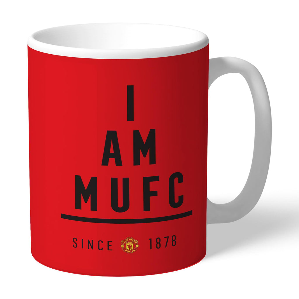 Manchester United FC I Am Mug - Official Merchandise Gifts