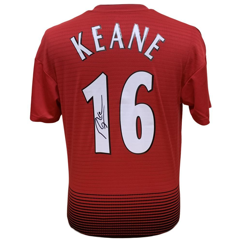 Manchester United FC Keane Signed Shirt, Collectables by Glamorous Gifts