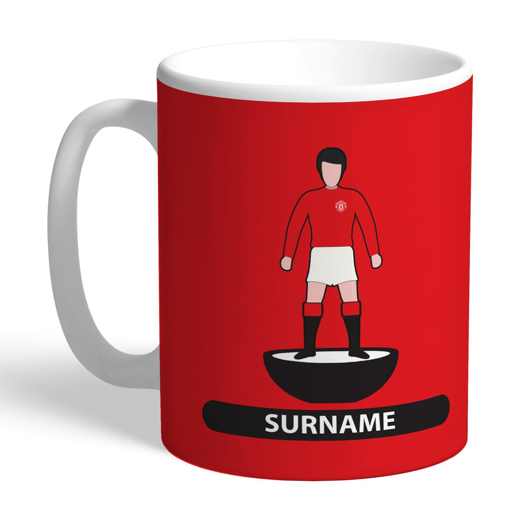 Manchester United FC Player Figure Mug - Official Merchandise Gifts