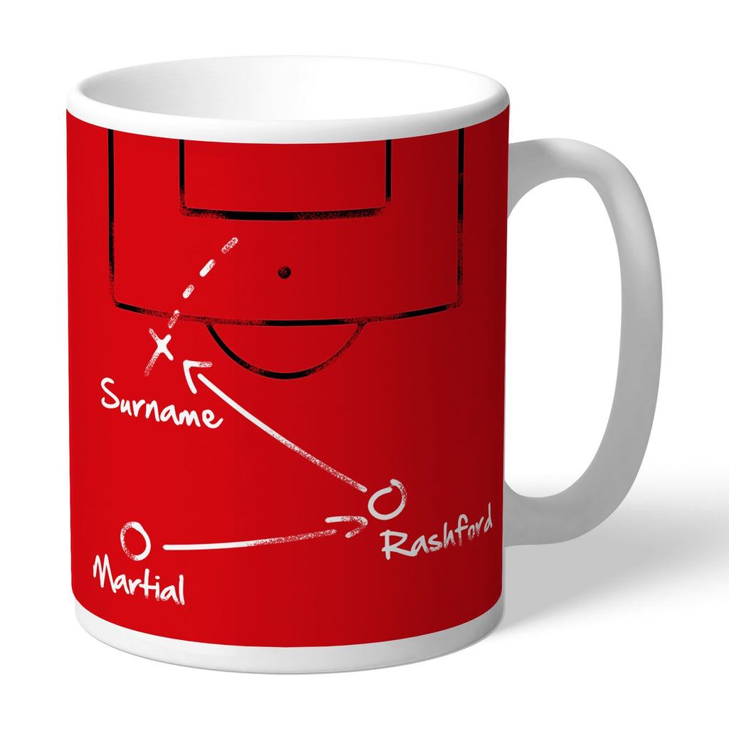 Manchester United FC Tactics Mug - Official Merchandise Gifts