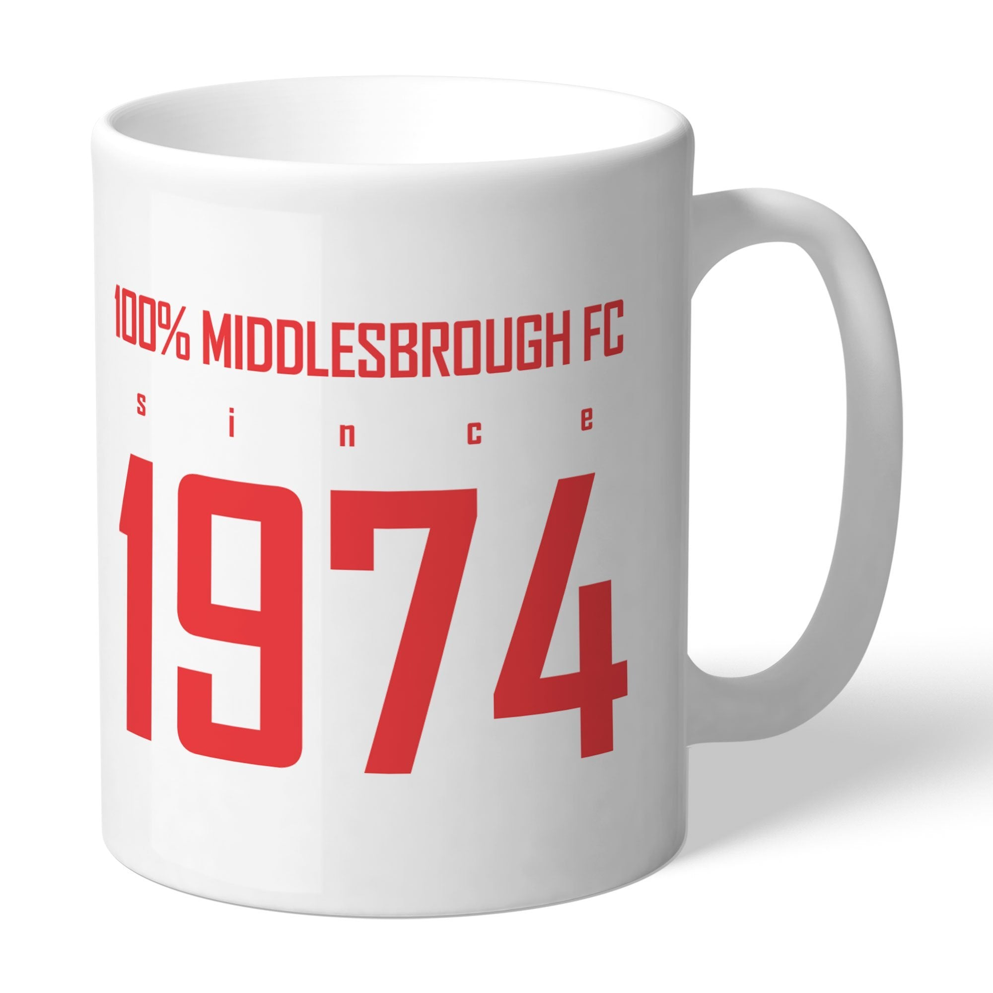Personalised Middlesbrough FC 100 Percent Mug, Home & Garden by Glamorous Gifts