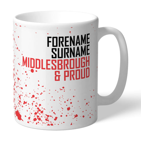Middlesbrough FC Proud Mug - Official Merchandise Gifts