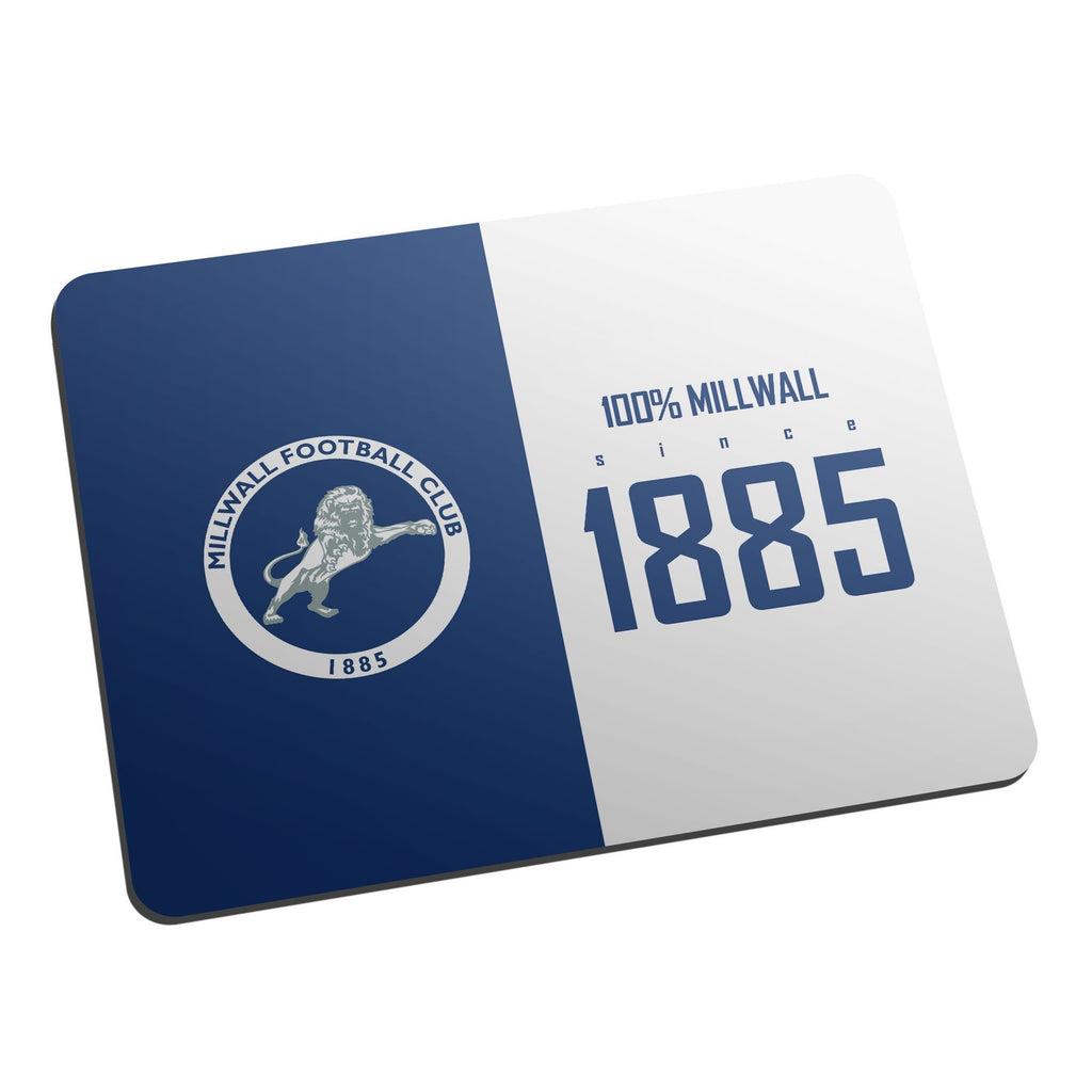 Millwall FC 100 Percent Mouse Mat - Official Merchandise Gifts