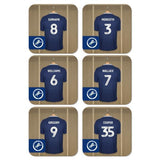Millwall FC Dressing Room Coasters - Official Merchandise Gifts