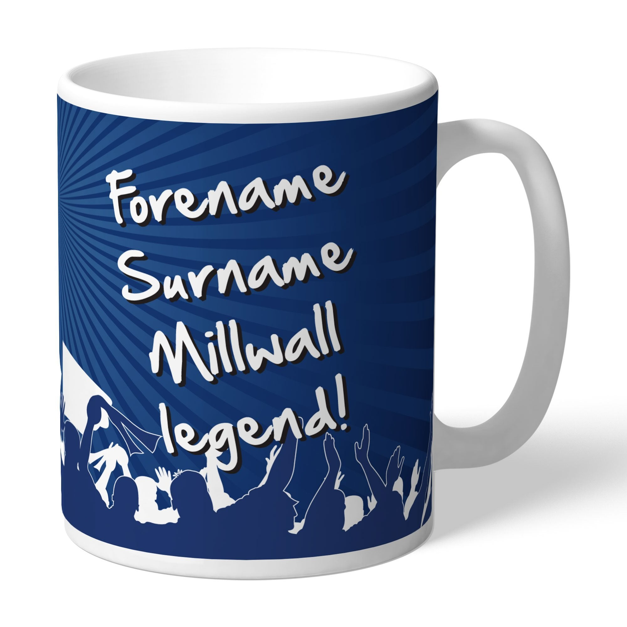 Personalised Millwall FC Legend Mug, Home & Garden by Glamorous Gifts