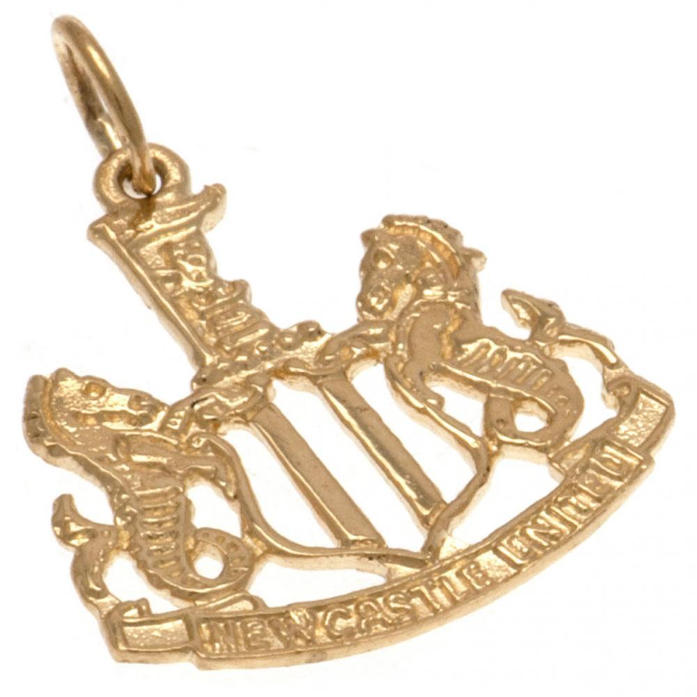 Newcastle United FC 9ct Gold Pendant, Clothing & Accessories by Glamorous Gifts UK