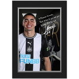Newcastle United FC Almiron Autograph Photo Folder - Official Merchandise Gifts