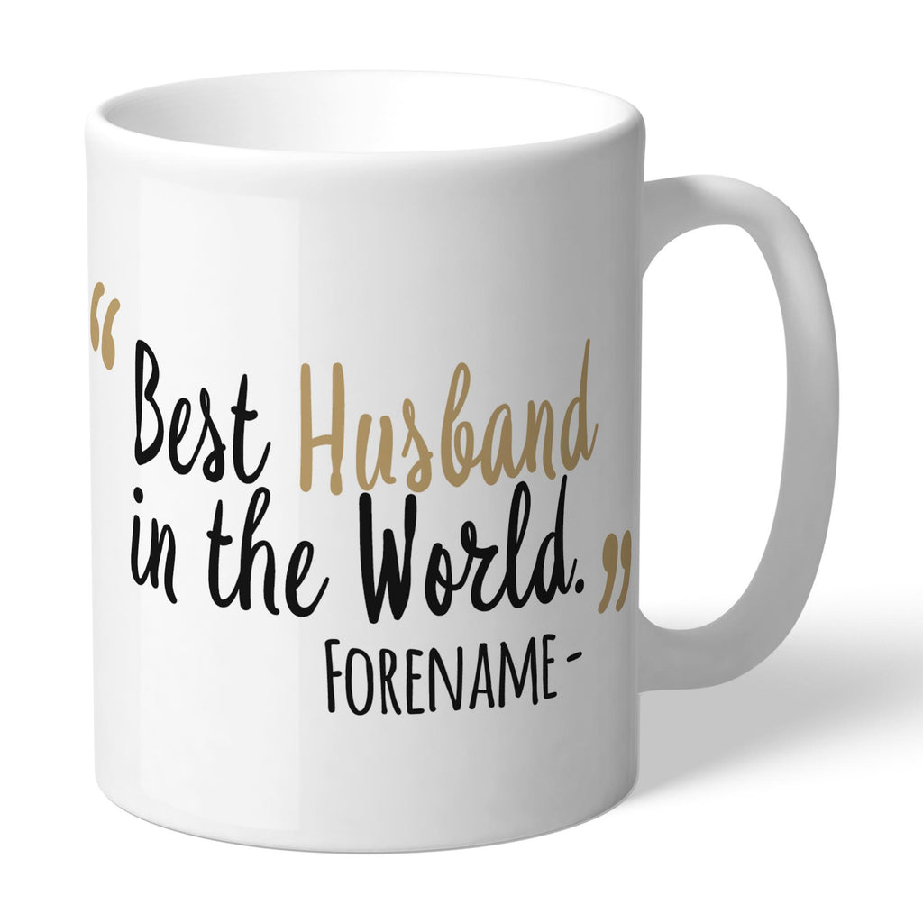 Newcastle United FC Best Husband In The World Mug - Official Merchandise Gifts