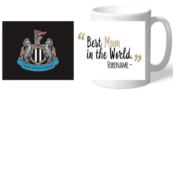 Newcastle United FC Best Mum In The World Mug - Official Merchandise Gifts