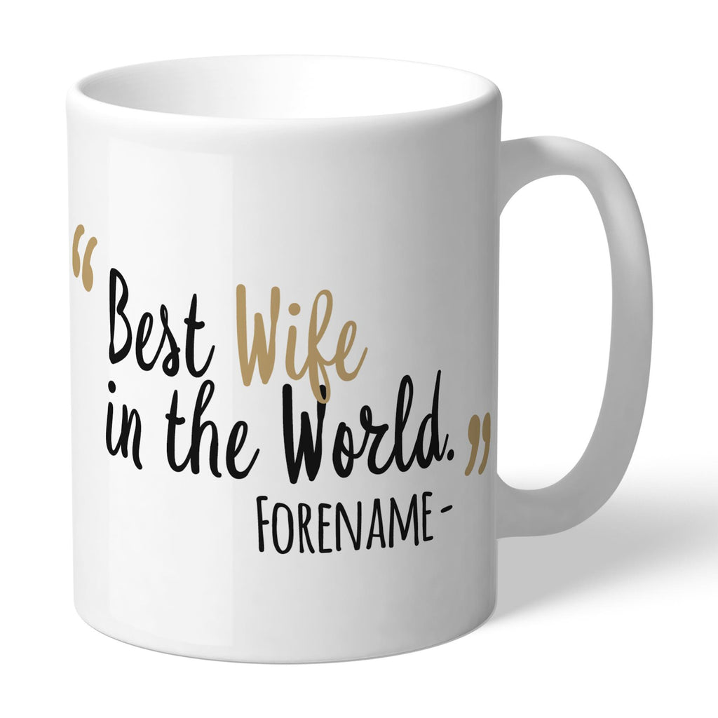 Newcastle United FC Best Wife In The World Mug - Official Merchandise Gifts