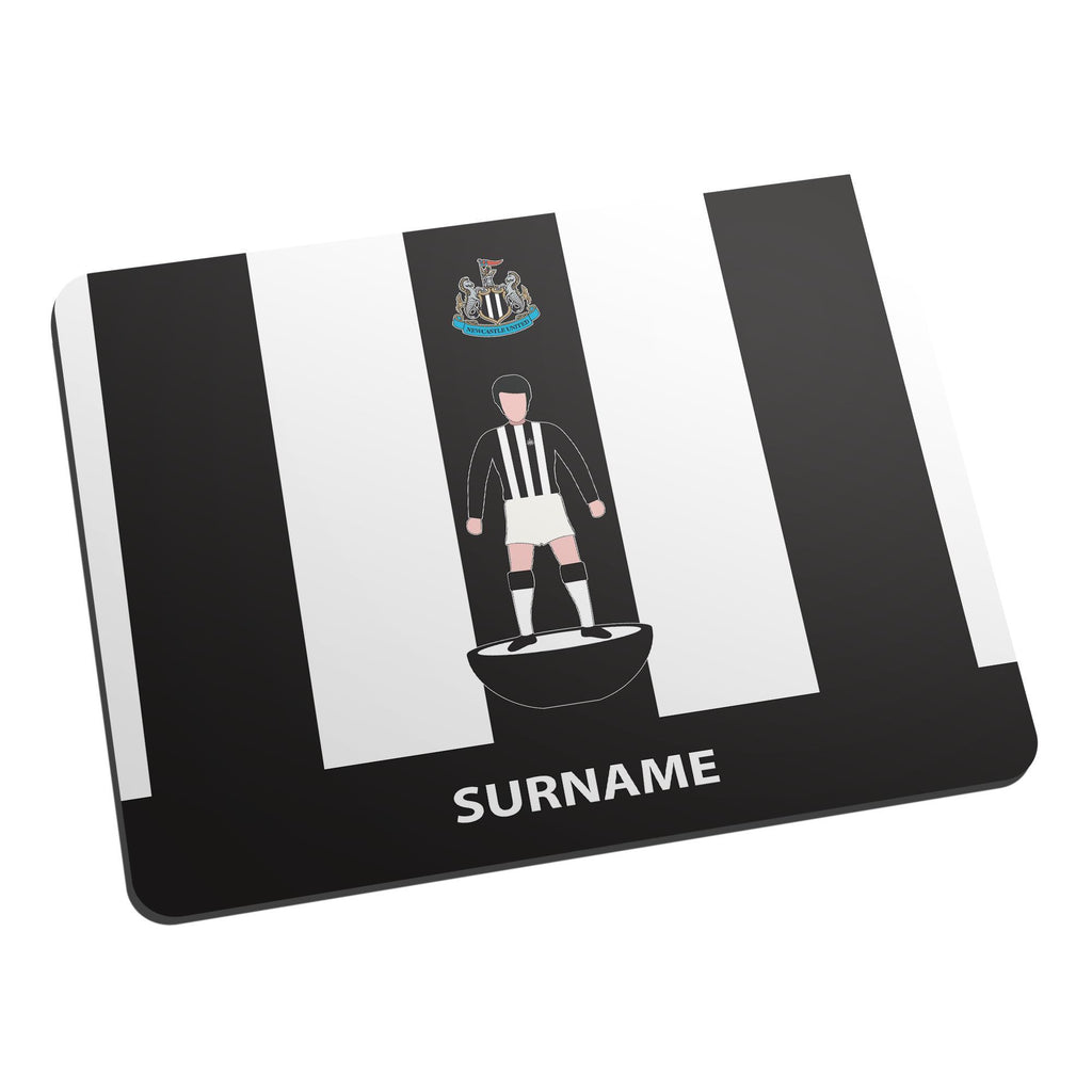 Newcastle United FC Player Figure Mouse Mat - Official Merchandise Gifts