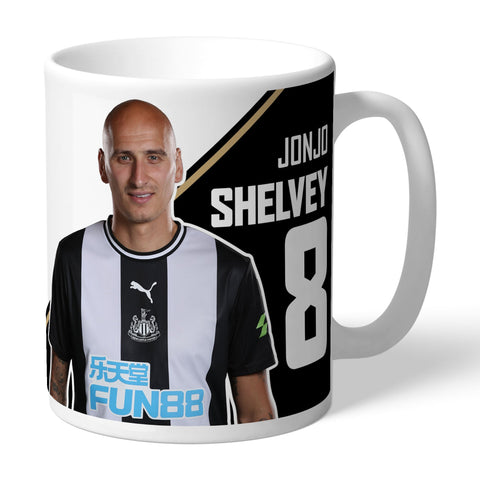 Newcastle United FC Shelvey Autograph Mug - Official Merchandise Gifts