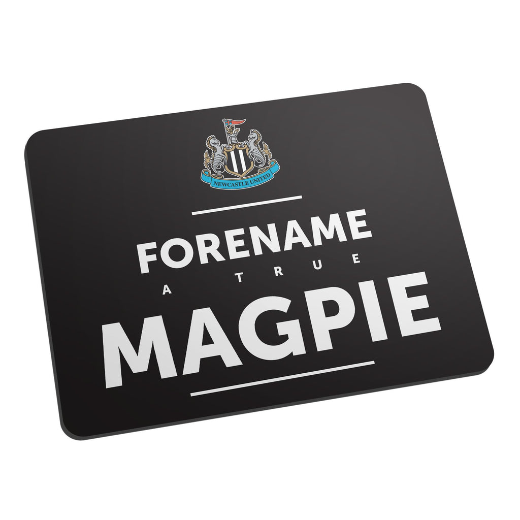 Newcastle United FC True Mouse Mat - Official Merchandise Gifts