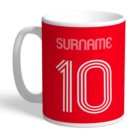 Nottingham Forest FC Retro Shirt Mug - Official Merchandise Gifts