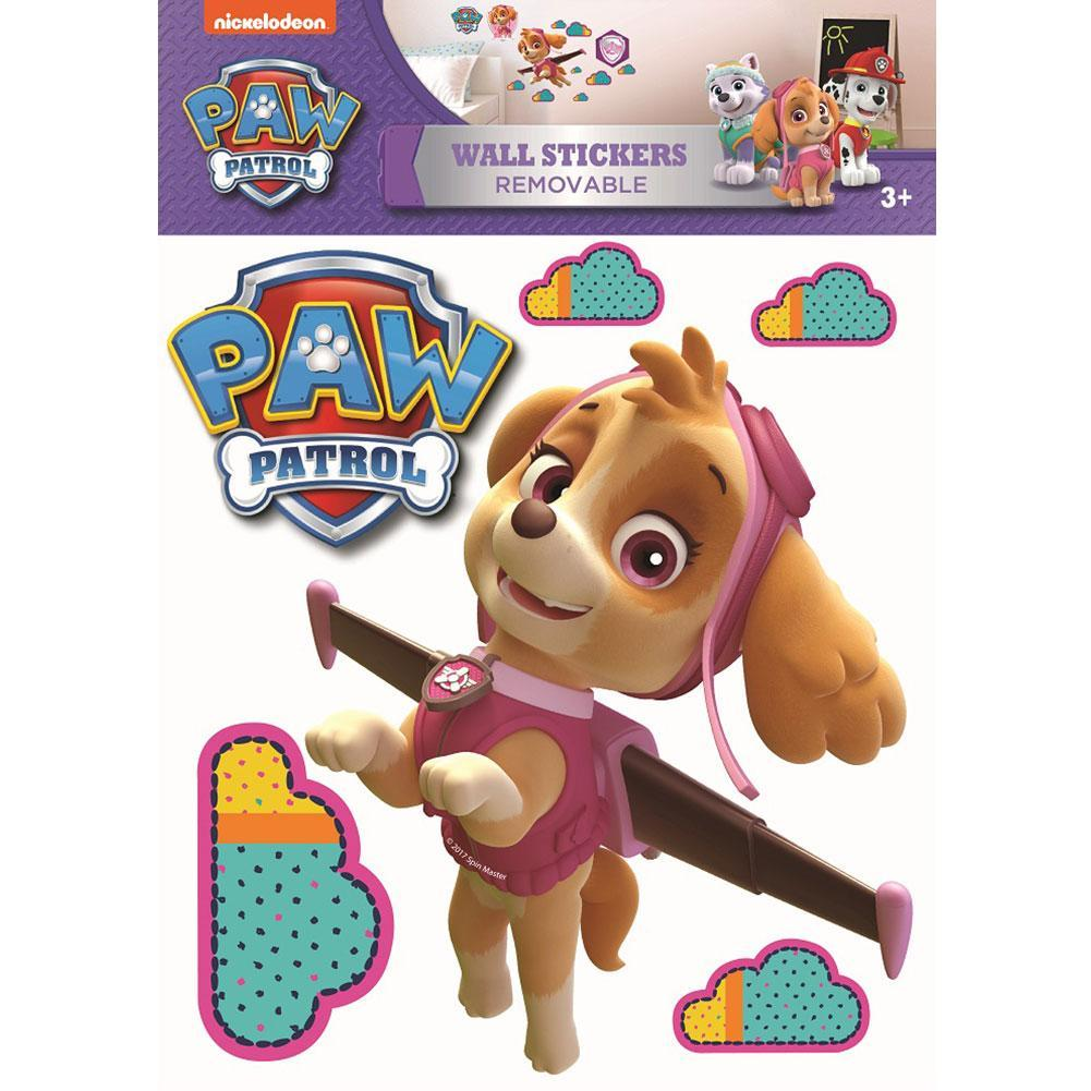 Paw Patrol Wall Sticker A3 Skye, Art & Crafting Materials by Glamorous Gifts UK