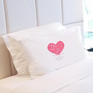 Personalised A Perfect Love Stitch Pillow Case - Official Merchandise Gifts