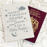 Personalised Baby Passport Cover