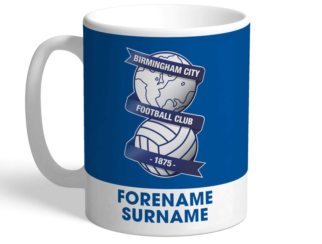 Personalised Birmingham Crest Mug - Official Merchandise Gifts