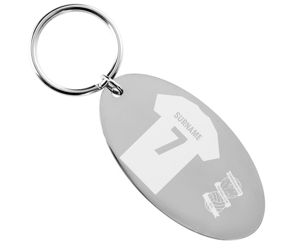 Personalised Birmingham Keyring - Official Merchandise Gifts