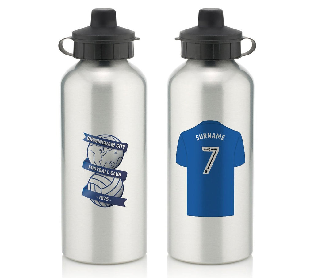 Personalised Birmingham Water Bottle - Official Merchandise Gifts