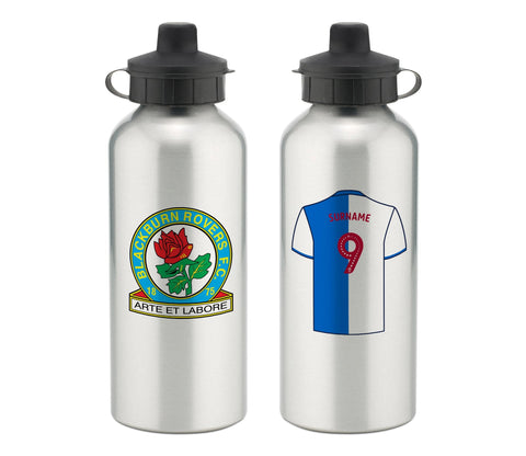Personalised Blackburn Water Bottle - Official Merchandise Gifts