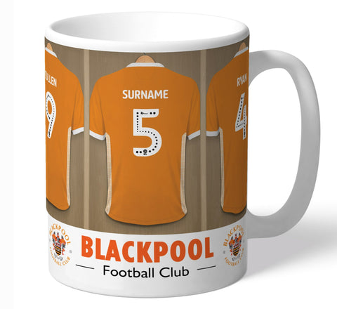 Personalised Blackpool Dressing Room Mug - Official Merchandise Gifts
