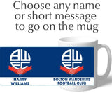 Personalised Bolton Crest Mug - Official Merchandise Gifts