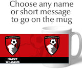 Personalised Bournemouth Crest Mug - Official Merchandise Gifts