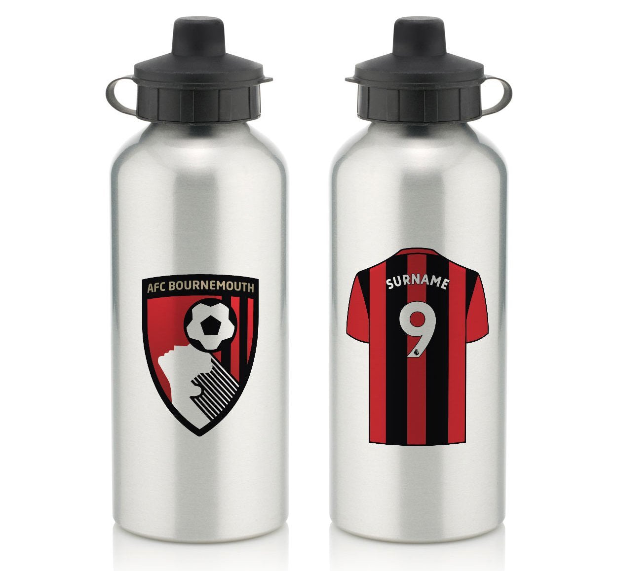 Personalised Bournemouth Water Bottle, Food & Beverage Carriers by Glamorous Gifts UK
