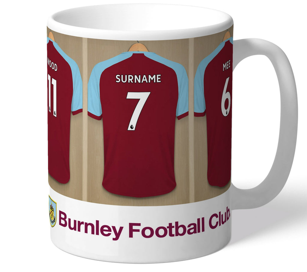 Personalised Burnley Dressing Room Mug - Official Merchandise Gifts