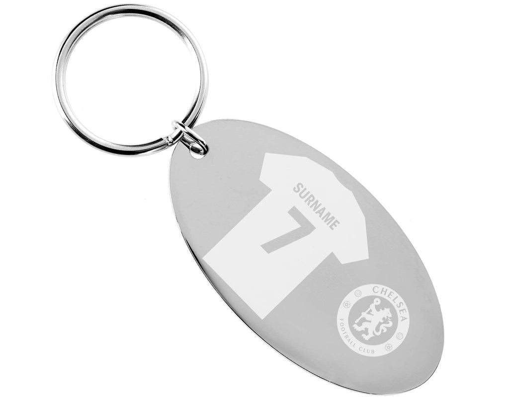 Personalised Chelsea Keyring - Official Merchandise Gifts