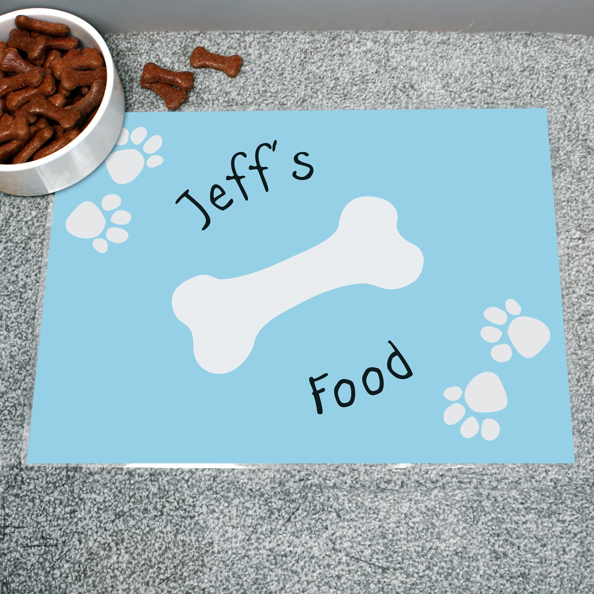 Personalised Dog Placemat, Pet Bowl Mats by Glamorous Gifts
