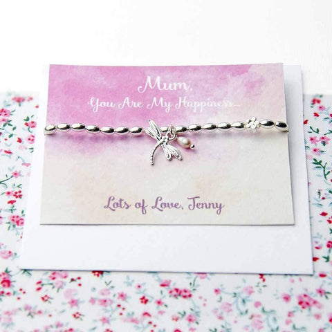 Personalised Dragonfly Friendship Bracelet - Official Merchandise Gifts