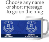 Personalised Everton Crest Mug - Official Merchandise Gifts
